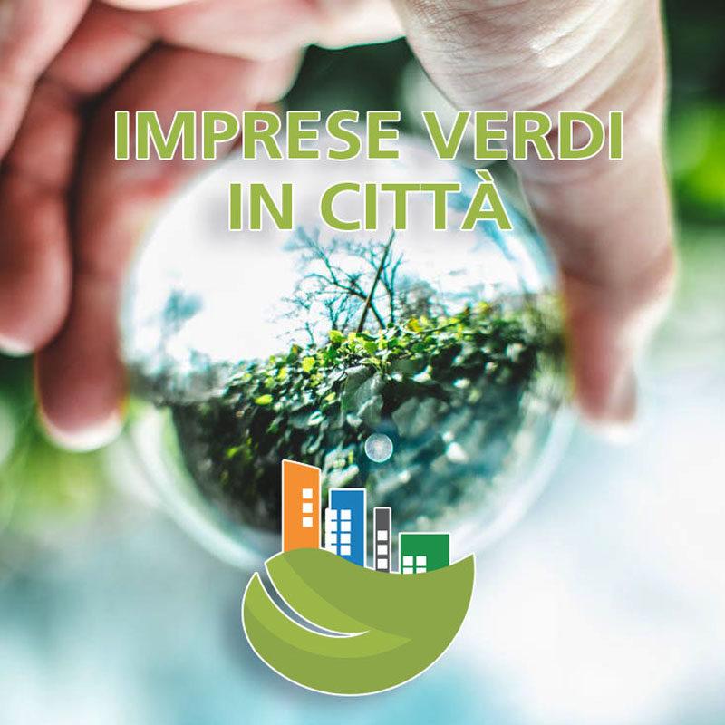 Imprese verdi in città con logo