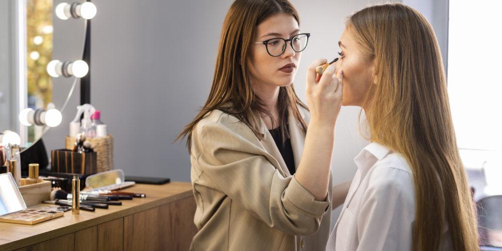 realizzazione make up giorno