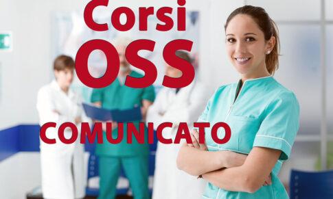 CORSI OSS – COMUNICATO DEL 13 GENNAIO 2021