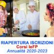 CORSI IeFP_ANNUALITÀ 2020-2023_RIAPERTURA ISCRIZIONI